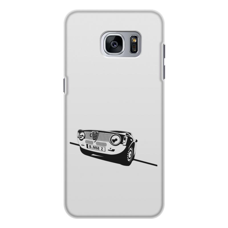 Чехол для Samsung Galaxy S7, объёмная печать Printio Retro alfa romeo racing блокнот на пружине а4 printio retro alfa romeo racing