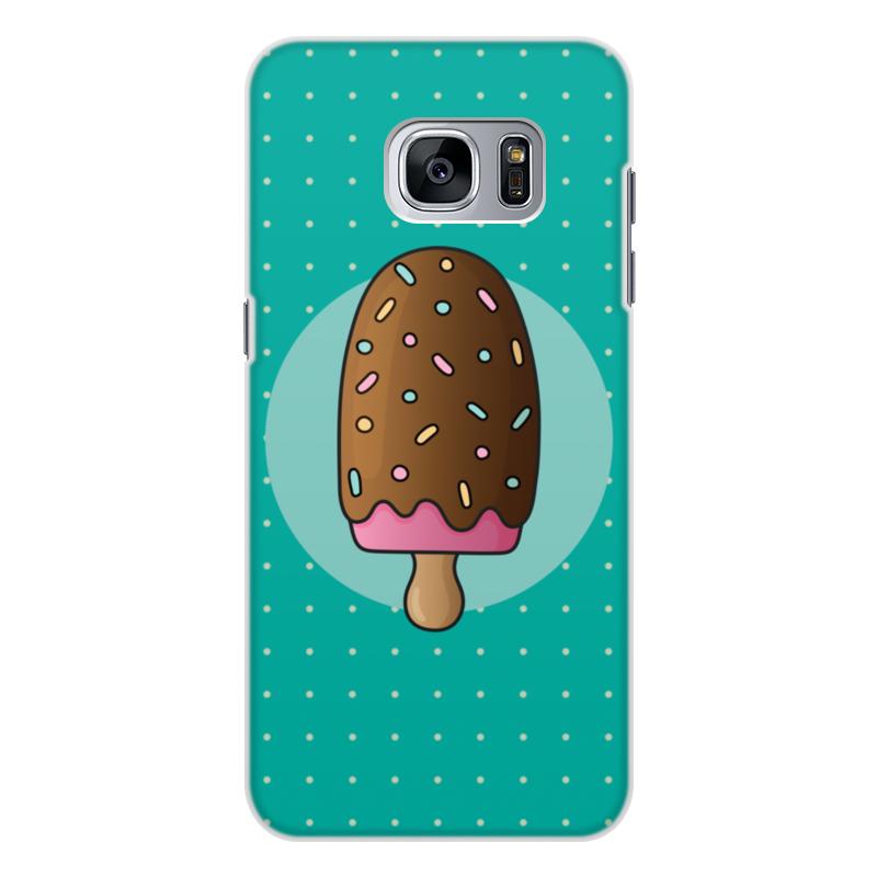 Чехол для Samsung Galaxy S7, объёмная печать Printio Мороженое
