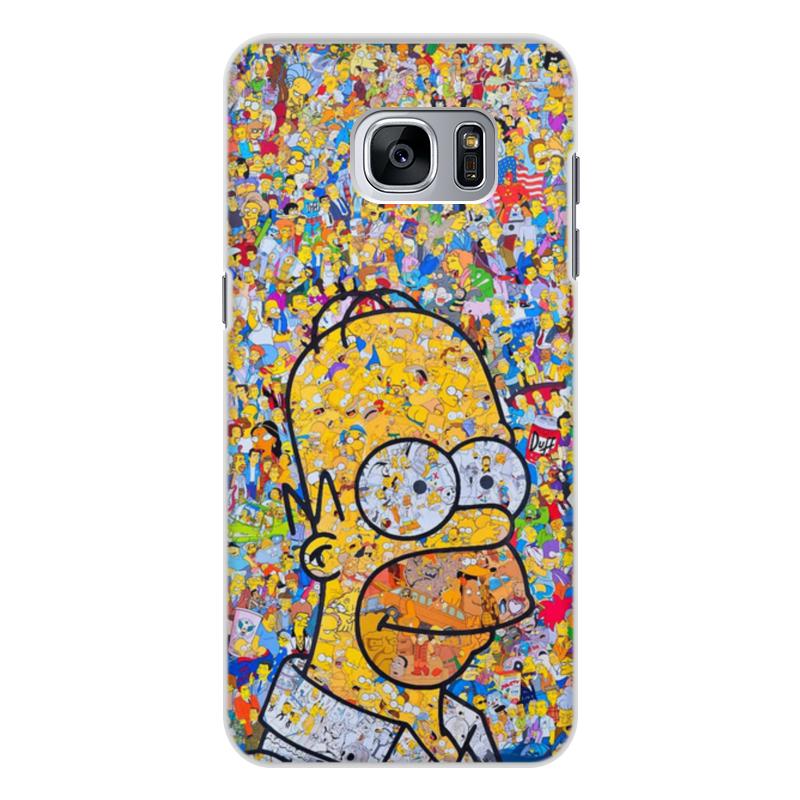 Чехол для Samsung Galaxy S7, объёмная печать Printio Симпсоны elephone s7 4g phablet