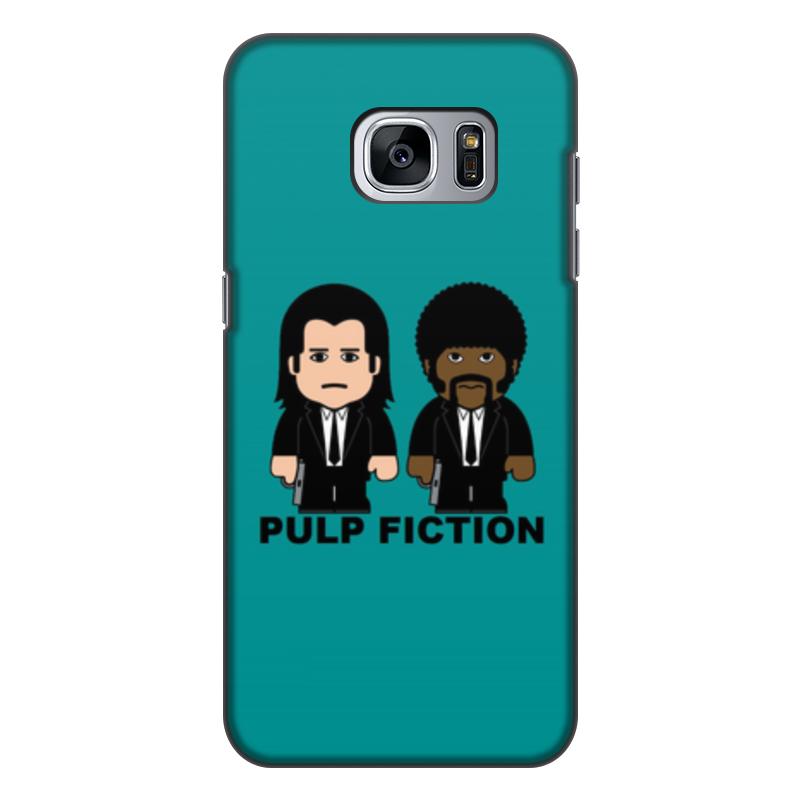цена на Чехол для Samsung Galaxy S7, объёмная печать Printio Pulp fiction