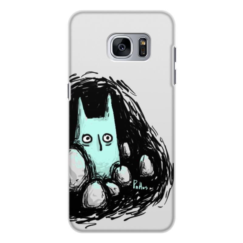 Чехол для Samsung Galaxy S7, объёмная печать Printio Во тьме