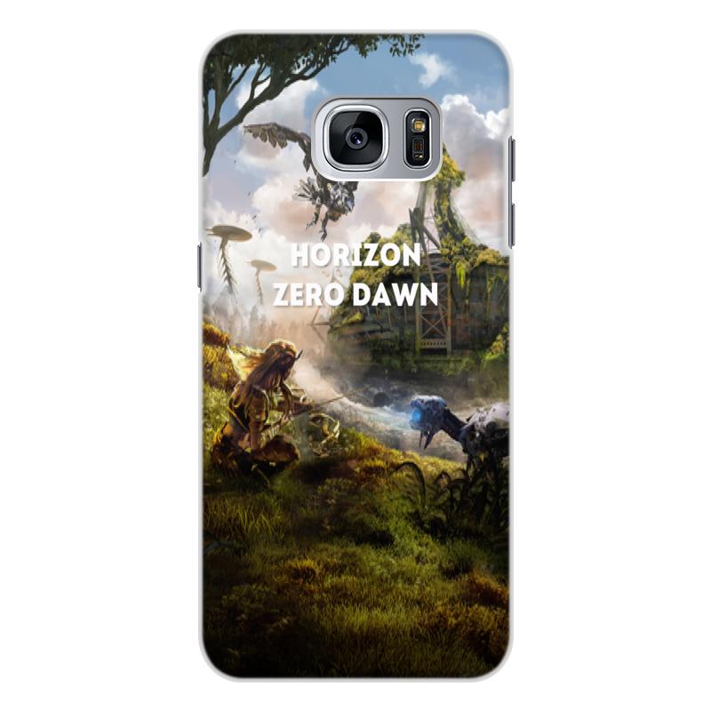 Чехол для Samsung Galaxy S7, объёмная печать Printio Horizon zero dawn чехол силиконовый последний богатырь для samsung s7
