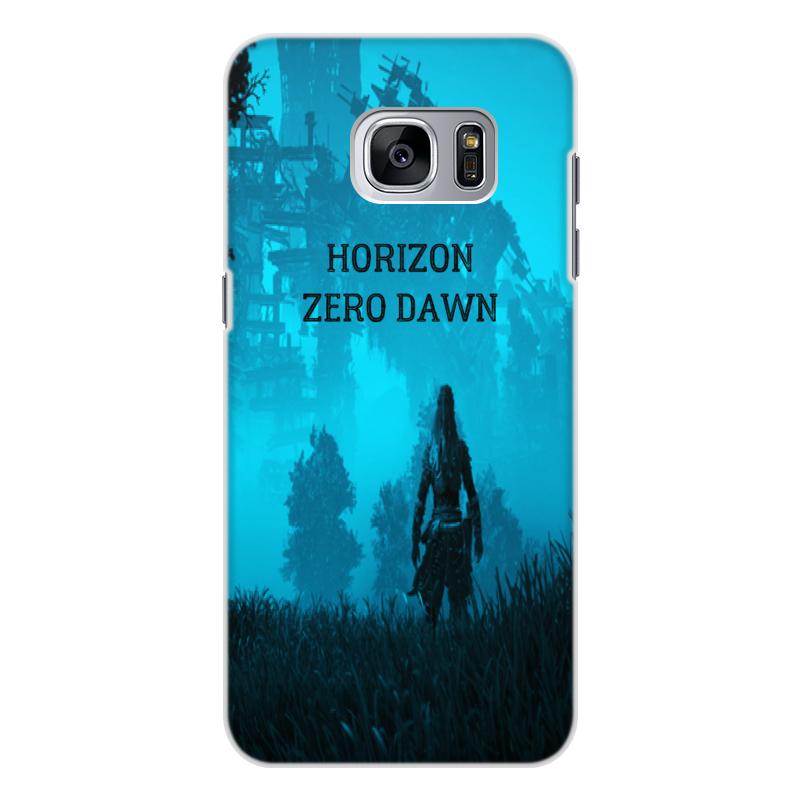 Чехол для Samsung Galaxy S7, объёмная печать Printio Horizon zero dawn аксессуар чехол накладка для samsung galaxy s7 monsterskin hd crash guard