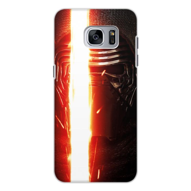 Чехол для Samsung Galaxy S7, объёмная печать Printio Звездные войны - кайло рен чехол для samsung galaxy s7 объёмная печать printio звездные войны