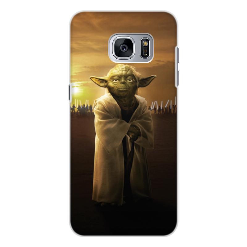 Чехол для Samsung Galaxy S7, объёмная печать Printio Звездные войны - йода чехол для samsung galaxy s7 объёмная печать printio звездные войны