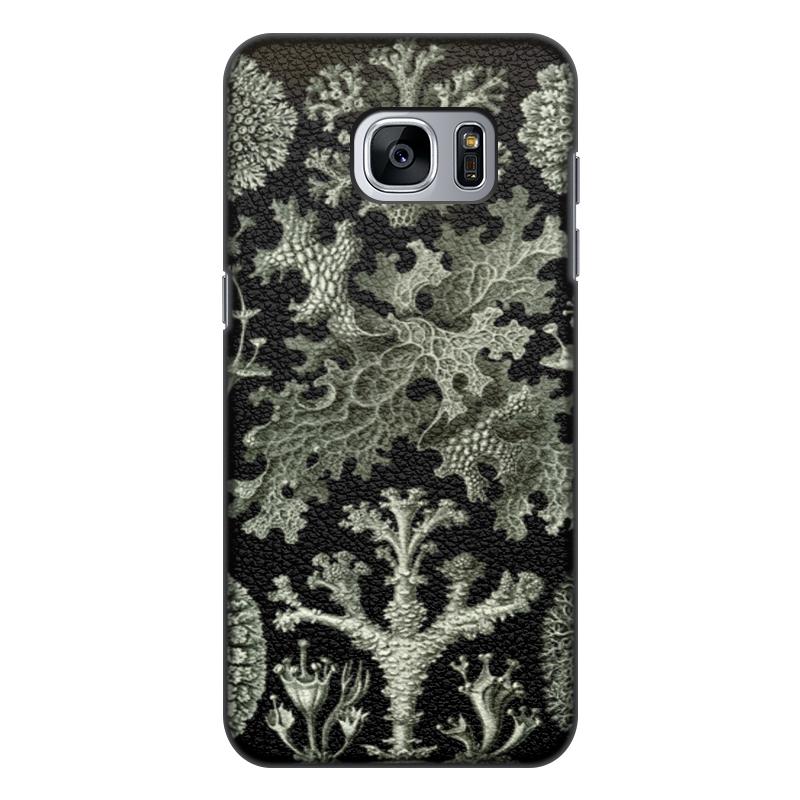 Чехол для Samsung Galaxy S7, объёмная печать Printio Лишайники (lichenes, ernst haeckel) чехол для samsung galaxy s7 edge силиконовый printio лишайники lichenes ernst haeckel