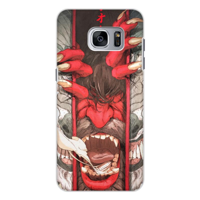 Чехол для Samsung Galaxy S7, объёмная печать Printio Демон philips fc 9712 01