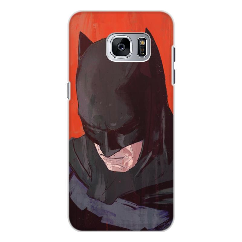 Чехол для Samsung Galaxy S7, объёмная печать Printio Бэтмен