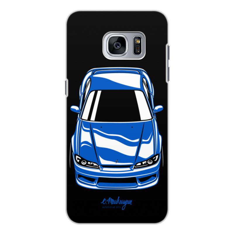 Чехол для Samsung Galaxy S7, объёмная печать Printio Silvia s15