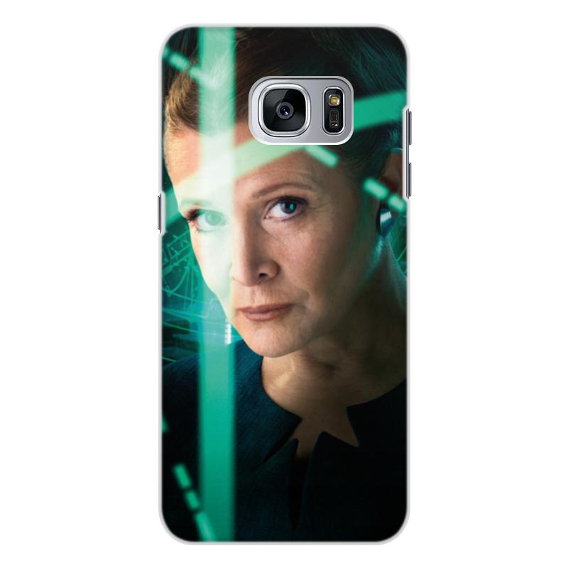 Чехол для Samsung Galaxy S7, объёмная печать Printio Звездные войны - лея чехол для samsung galaxy s7 объёмная печать printio звездные войны