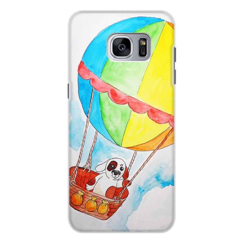 Чехол для Samsung Galaxy S7, объёмная печать Printio Щенок на шаре подставка для наушников намотки на наушники iphone 8 7 samsung galaxy s8 s7
