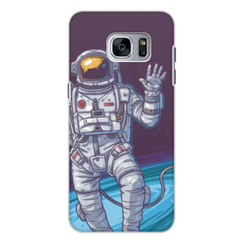 Чехол для Samsung Galaxy S7, объёмная печать Printio Space чехол для samsung galaxy s4 printio my space