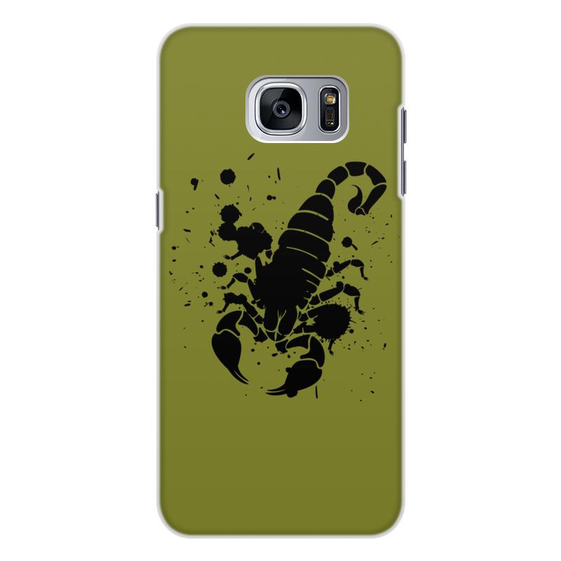 Чехол для Galaxy S7, объёмя печать Printio Скорпион (24.10-21.11)