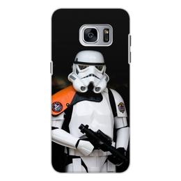 """Чехол для Samsung Galaxy S7, объёмная печать """"Звёздные войны"""" - кино, star wars, звёздные войны"""