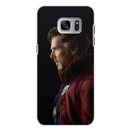 """Чехол для Samsung Galaxy S7, объёмная печать """"Доктор Стрэндж"""" - marvel, мстители, марвел, доктор стрэндж, doctor strange"""