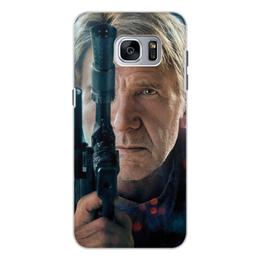 """Чехол для Samsung Galaxy S7, объёмная печать """"Звездные войны - Хан Соло"""" - кино, фантастика, star wars, звездные войны, дарт вейдер"""