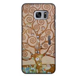 """Чехол для Samsung Galaxy S7, объёмная печать """"Древо жизни (Густав Климт)"""" - картина, живопись, климт"""