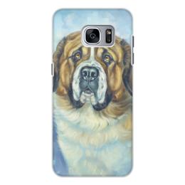 """Чехол для Samsung Galaxy S7, объёмная печать """"СФИНКС"""" - арт, собаки, породы"""