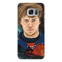 """Чехол для Samsung Galaxy S7, объёмная печать """"Артемий Панарин"""" - хоккей, нхл, сборная россия по хоккею, артемий панарин"""