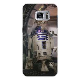 """Чехол для Samsung Galaxy S7, объёмная печать """"Звездные войны - R2-D2"""" - кино, фантастика, star wars, звездные войны, дарт вейдер"""