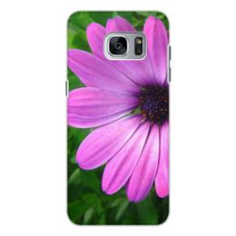 """Чехол для Samsung Galaxy S7, объёмная печать """"цветы"""" - n-a-v"""