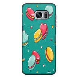 """Чехол для Samsung Galaxy S7, объёмная печать """"Печеньки. """" - еда, чехол, чехол для samsung, акссесуар"""