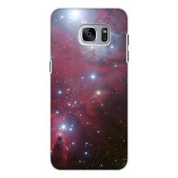 """Чехол для Samsung Galaxy S7, объёмная печать """"Тёмная туманность"""" - космос"""