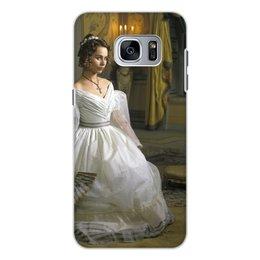 """Чехол для Samsung Galaxy S7, объёмная печать """"Незнакомка"""" - классика, кино, женщины"""