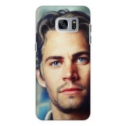 """Чехол для Samsung Galaxy S7, объёмная печать """"Пол Уокер Paul Walker"""" - брайн оконнер, актер, пол уокер, форсаж, paul walker"""