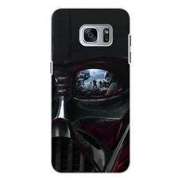 """Чехол для Samsung Galaxy S7, объёмная печать """"Звездные войны"""" - кино, фантастика, star wars, звездные войны, дарт вейдер"""