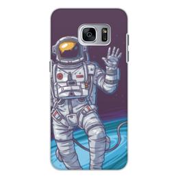 """Чехол для Samsung Galaxy S7, объёмная печать """"Space"""" - космос, вселенная, наука, астрономия, the spaceway"""