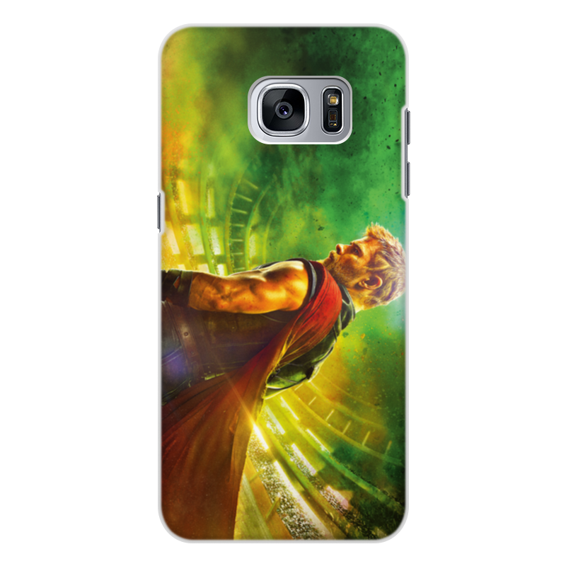 Чехол для Samsung Galaxy S7 Edge, объёмная печать Printio Тор рагнарёк