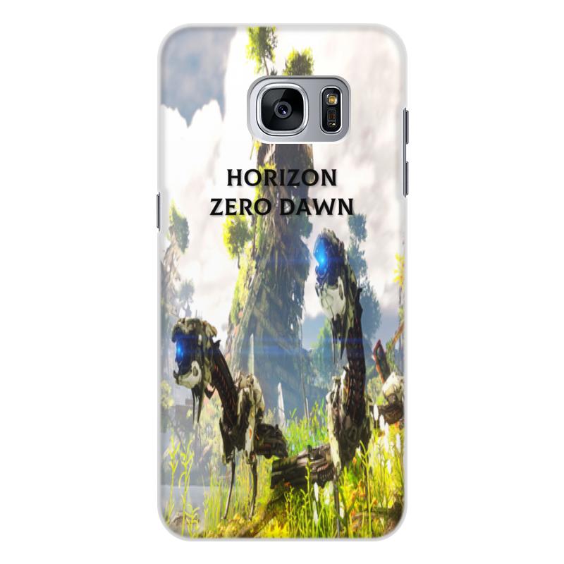 Чехол для Samsung Galaxy S7 Edge, объёмная печать Printio Horizon zero dawn чехол для samsung galaxy s7 edge cellular line flip backbookgals7ek black
