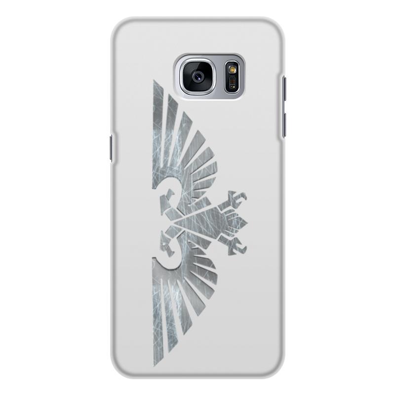 Чехол для Samsung Galaxy S7 Edge, объёмная печать Printio For the emperor! 5pcs lot for samsung for galaxy s7 g9300 lcd display touch screen digitizer assembly free dhl