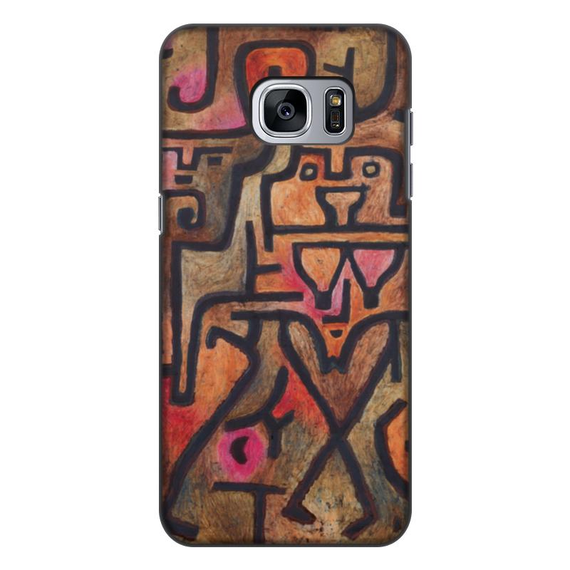 Чехол для Samsung Galaxy S7 Edge, объёмная печать Printio Лесные ведьмы (пауль клее) чехол для samsung galaxy s5 printio лесные ведьмы пауль клее