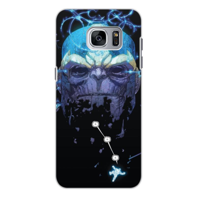 Чехол для Samsung Galaxy S7 Edge, объёмная печать Printio Танос смартфон samsung galaxy s7 edge