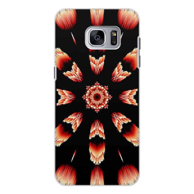 Чехол для Samsung Galaxy S7 Edge, объёмная печать Printio Костер чехол для samsung galaxy s7 edge объёмная печать printio цифры