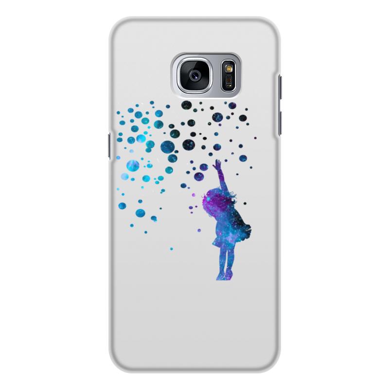 Чехол для Samsung Galaxy S7 Edge, объёмная печать Printio Дотянуться до звезд чехол для samsung galaxy note 2 printio дотянуться до звезд