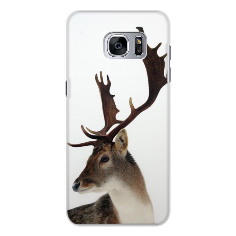 купить Чехол для Samsung Galaxy S7 Edge, объёмная печать Printio Олень онлайн