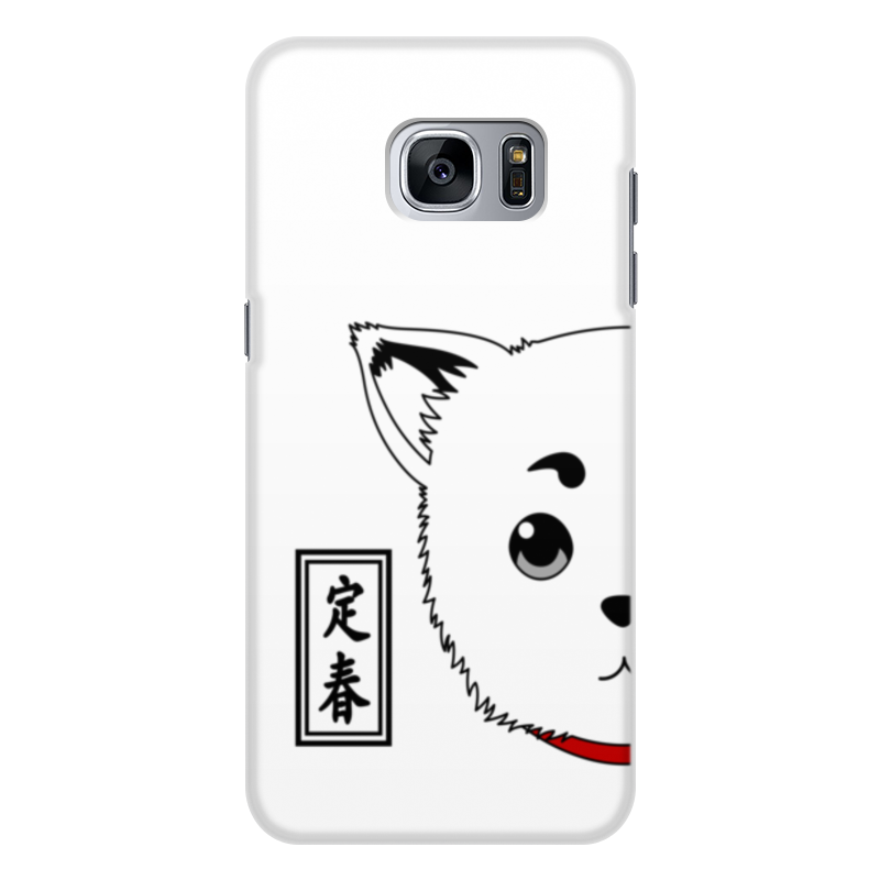 Чехол для Samsung Galaxy S7 Edge, объёмная печать Printio Гинтама. садахару