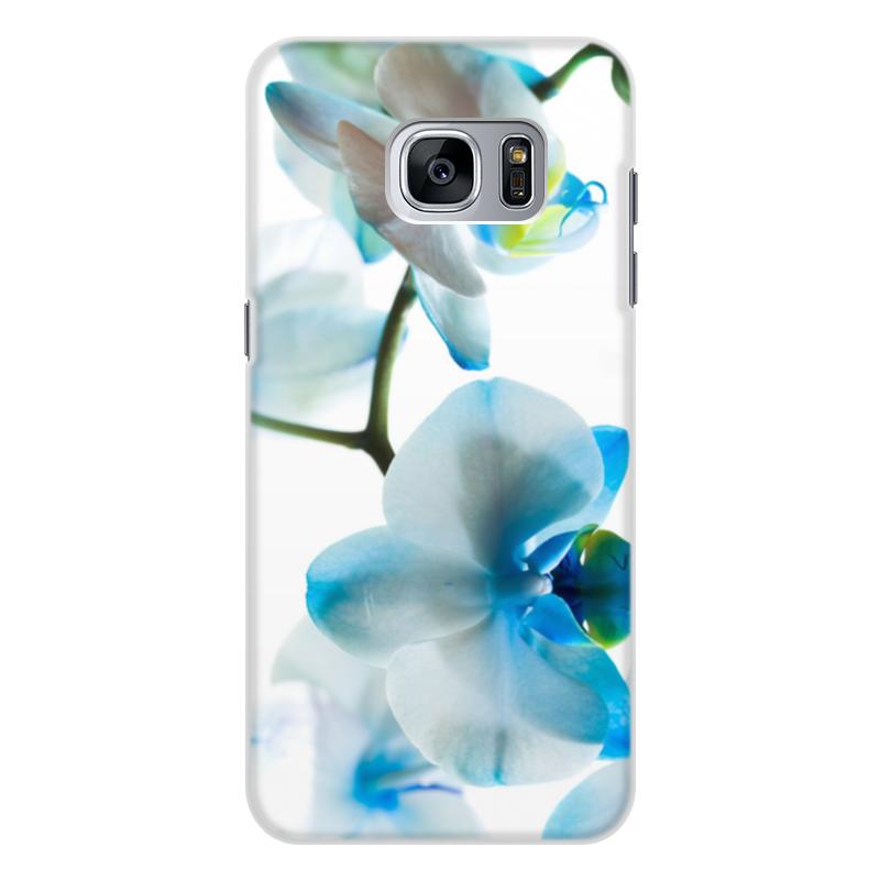 Чехол для Samsung Galaxy S7 Edge, объёмная печать Printio Цветы чехол для samsung galaxy s7 edge объёмная печать printio путь воина