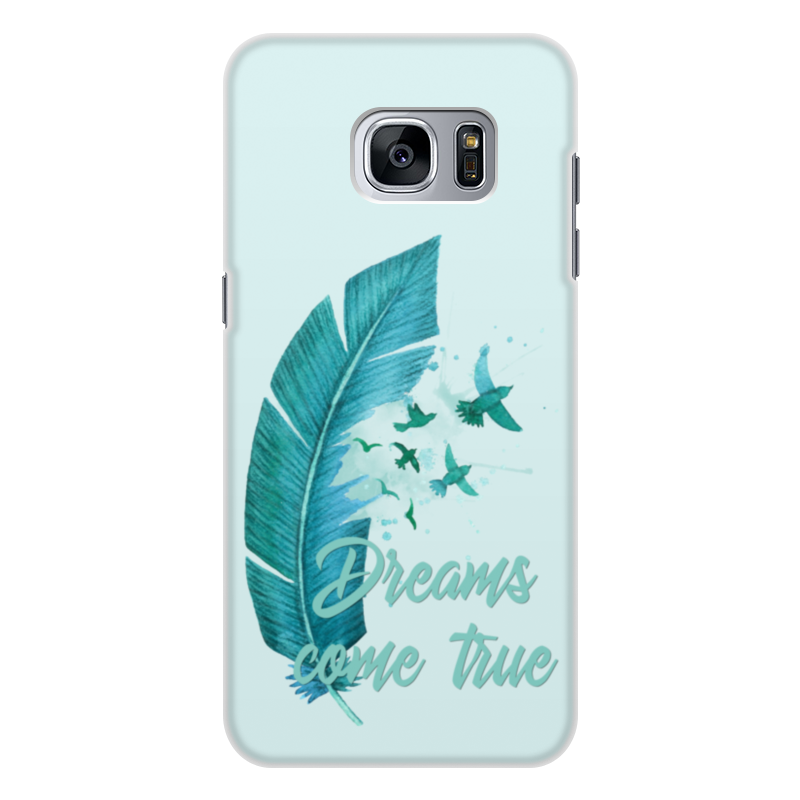 Чехол для Samsung Galaxy S7 Edge, объёмная печать Printio Dreams come true чехол для samsung galaxy s4 printio dreams come true