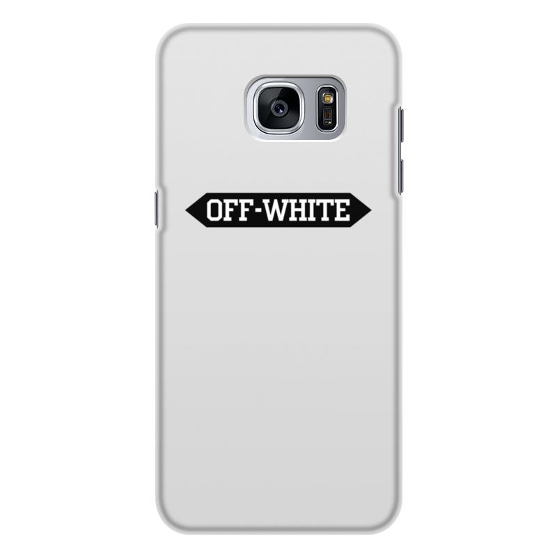 Printio Off-white чехол для samsung galaxy s7 edge объёмная печать printio off white