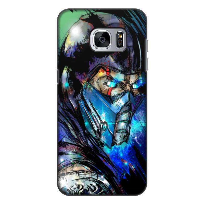 Чехол для Samsung Galaxy S7 Edge, объёмная печать Printio Mortal kombat x (sub-zero) чехол для samsung galaxy s6 edge объёмная печать printio mortal kombat x sub zero