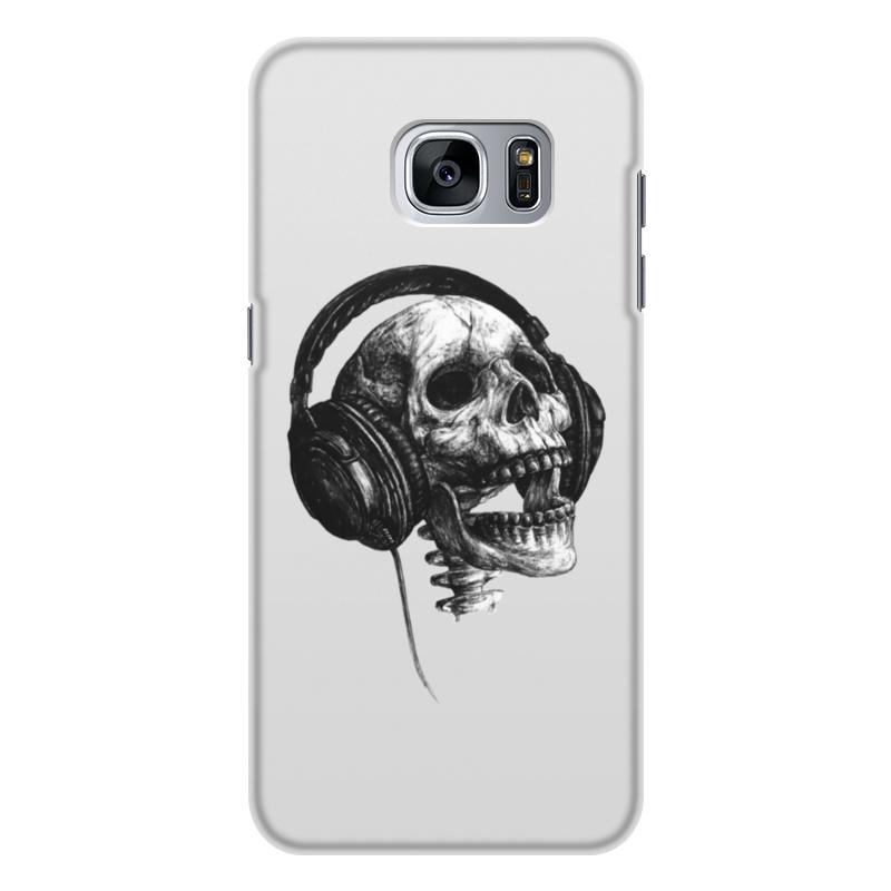 Чехол для Samsung Galaxy S7 Edge объёмная печать Printio Музыка навсегда