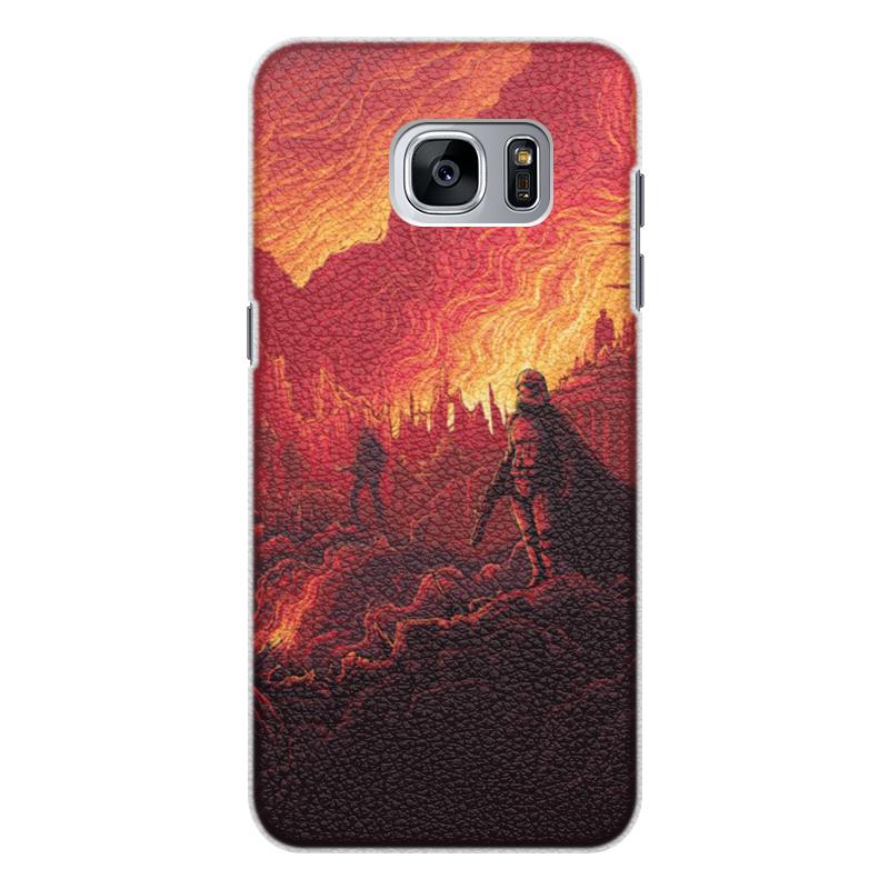 Чехол для Samsung Galaxy S7 Edge, объёмная печать Printio Звездные войны смартфон samsung galaxy s7 edge