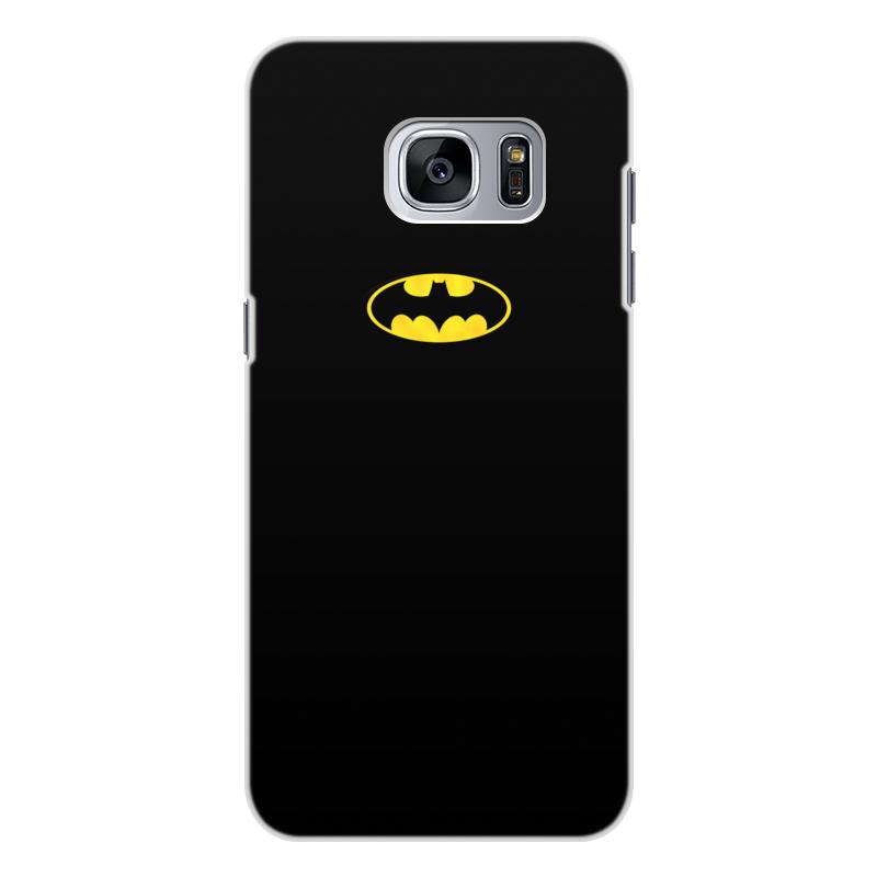 Чехол для Samsung Galaxy S7 Edge, объёмная печать Printio Бэтмен / batman чехол для ноутбука 14 printio бэтмен