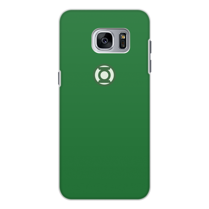 Чехол для Samsung Galaxy S7 Edge, объёмная печать Printio Зеленый фонарь чехол для samsung galaxy s7 edge объёмная печать printio новогодний заяц