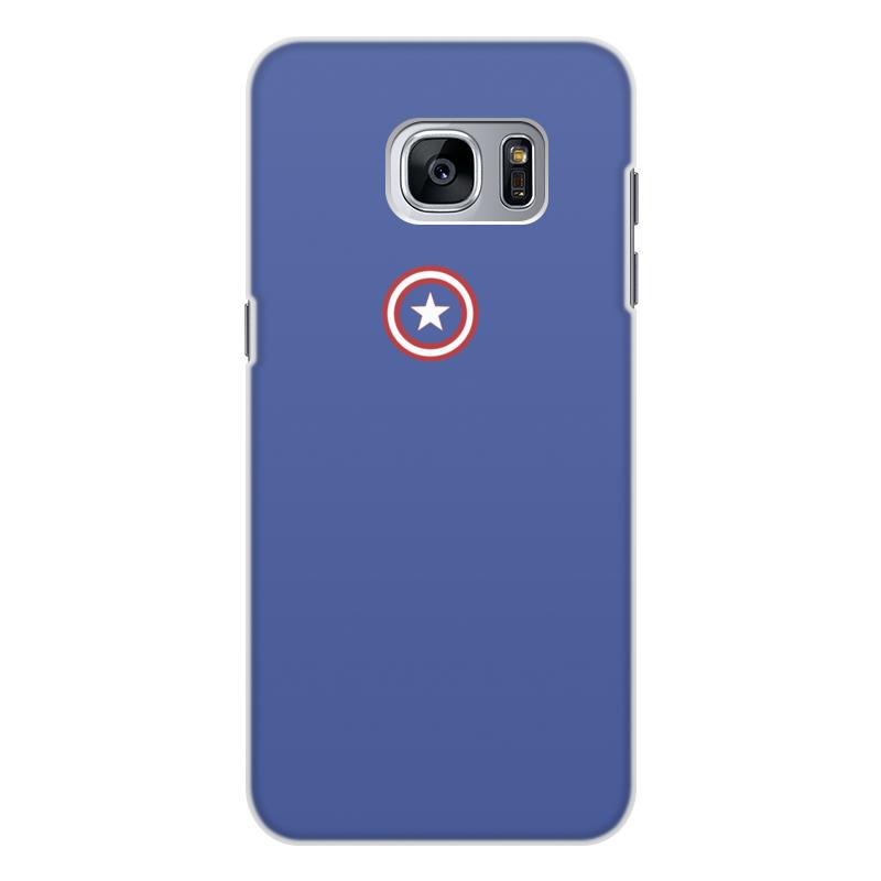 Чехол для Samsung Galaxy S7 Edge, объёмная печать Printio Капитан америка чехол для samsung galaxy s7 edge объёмная печать printio новогодний заяц