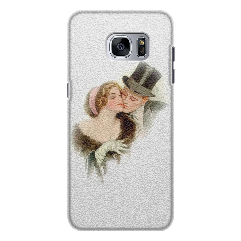 Чехол для Samsung Galaxy S7 Edge, объёмная печать Printio День святого валентина кейс для назначение ssamsung galaxy s7 edge s7 кошелек бумажник для карт со стендом чехол цветы твердый тпу для s7 edge s7 s6 edge
